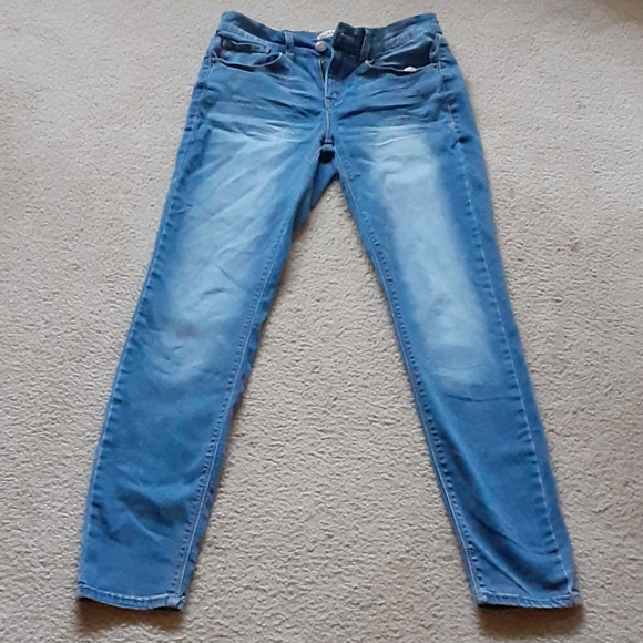 NEW Juniors Women/'s MUDD Low Rise Skinny Denim Blue Jeans Size 17 Zip Fly NWT